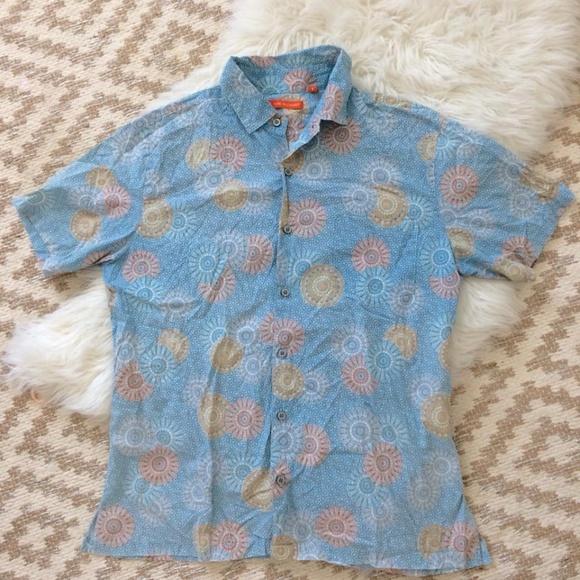 effae88c5 Tori Richard Shirts   Mens Slim Fit Shirt Sz L   Poshmark